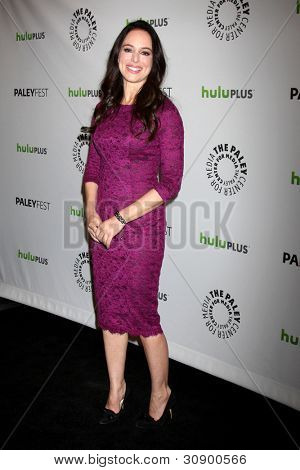 LOS ANGELES - MARCH 11:  Madeline Stowe arrives at the