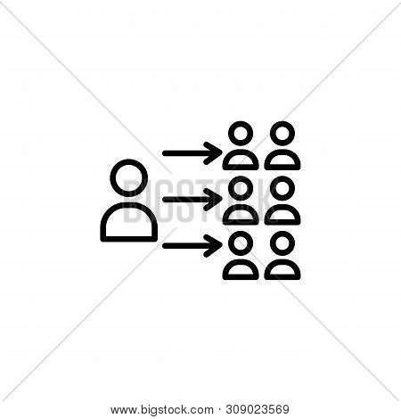 Migration Outline Icon. Element Of Migration Illustration Icon. Signs, Symbols Can Be Used For Web,