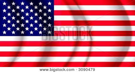 Usa Air Flag