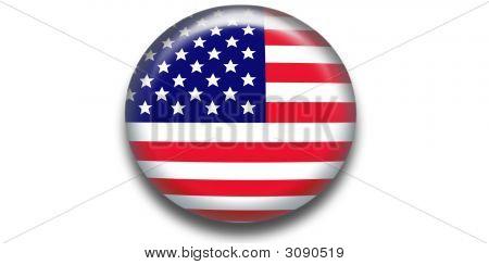 Usa Flag Icon Web