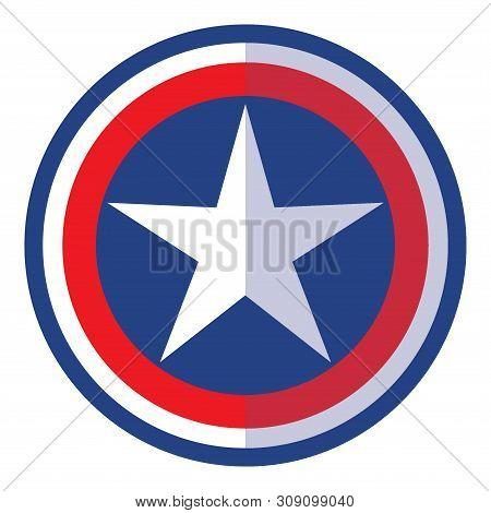 Star Shield Icon, Star Shield Icon Eps10, Star Shield Gold Icon Vector, Star Icon Shield Eps, Star S