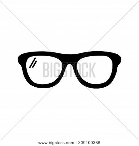 Save Download Preview Eye Glasses Icon Isolated On White Background. Eye Glasses Icon Simple Sign. E