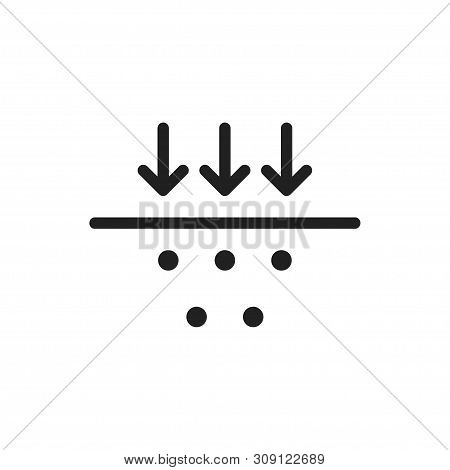 Membrane Icon. Fabric Symbol Membrane. Protection Material.
