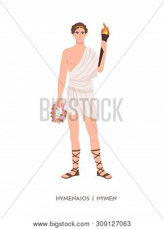 Hymenaios Or Hymen - God Or Deity Of Marriage Ceremonies And Weddings From Hellenistic Religion Or M