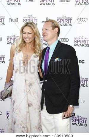 SANTA MONICA, CA - FEB 25: Kym Johnson; Carson Kressley at the 2012 Film Independent Spirit Awards on February 25, 2012 in Santa Monica, California