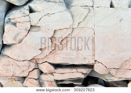 The Texture Of The Background Rock Pattern