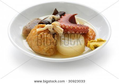 oden, japanese hotchpotch, japanese food