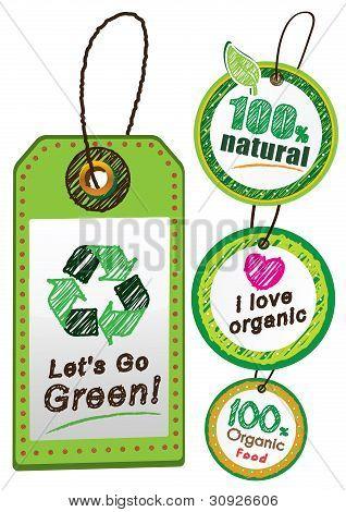 Go green label
