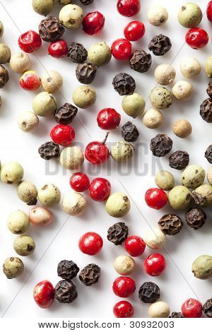 Colored Peppers Mix