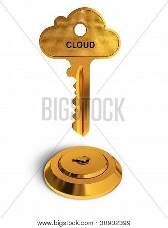 Cloud Gold Key