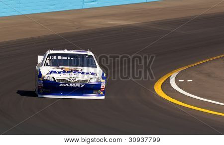 Avondale, Az - Mar 03, 2012:  With A Time Of 26.313 Seconds Mark Martin (55), Takes The Pole For The