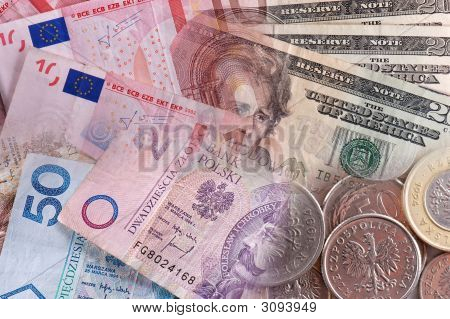 International Money Collage