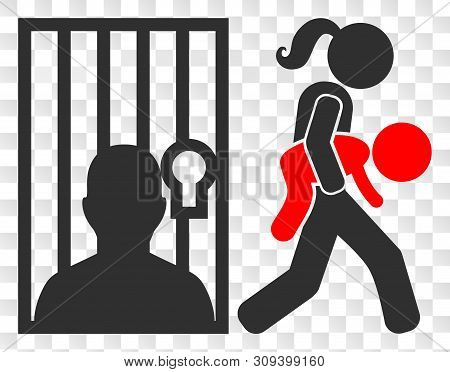 Juvenile Justice Eps Vector Pictogram. Illustration Contains Flat Juvenile Justice Iconic Symbol On