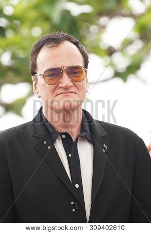 Quentin Tarantino attends the photocall for