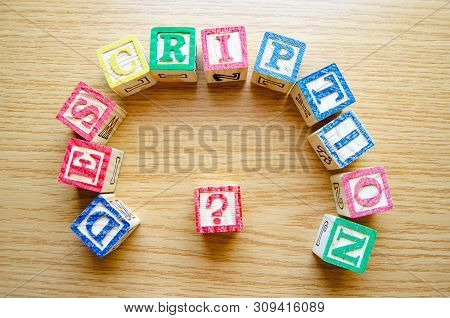 Educational Toy Cubes With Letters Organised To Display Word Description - Editing Metadata And Sear