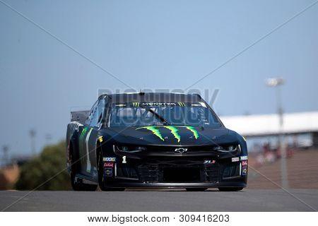 June 21, 2019 - Sonoma, California , USA: Kurt Busch (1) practices for the TOYOTA/SAVE MART 350 at Sonoma Raceway in Sonoma, California .