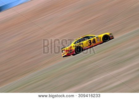 June 21, 2019 - Sonoma, California , USA: Michael McDowell (34) practices for the TOYOTA/SAVE MART 350 at Sonoma Raceway in Sonoma, California .