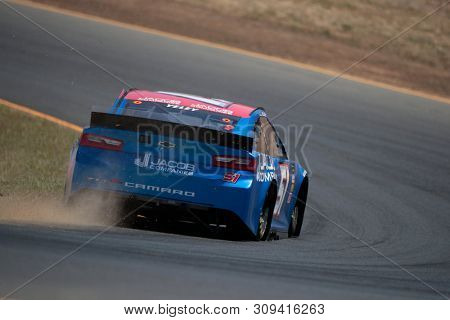 June 21, 2019 - Sonoma, California , USA: Kyle Weatherman (51) practices for the TOYOTA/SAVE MART 350 at Sonoma Raceway in Sonoma, California .