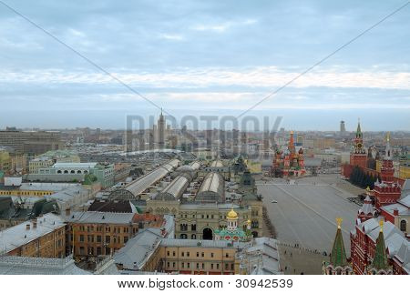 Center of Moscow