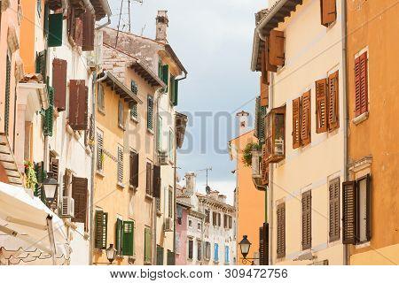 Rovinj, Istria, Croatia, Europe - Living History In The Streets Of Rovinj