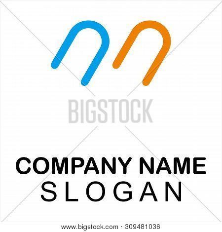 Vintage Old Style Logo Icon Monogram. Letter M Logo. Royal Hotel, Premium Boutique, Fashion Logo, Su