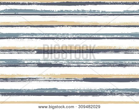 Casual Stripes Interior Wallpaper Seamless Pattern. Vintage Repeating Lines Background. Interior Tab