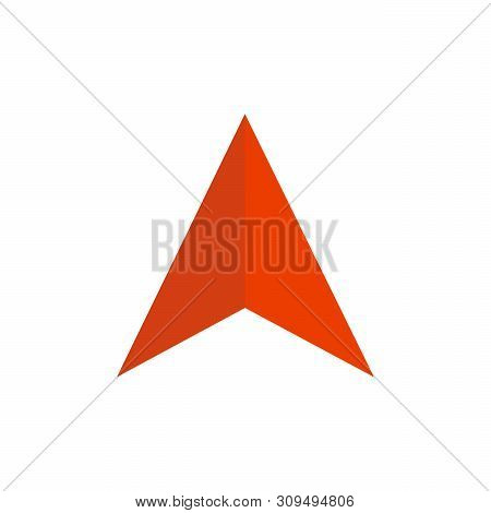 Up Arrow Icon Vector Isolated On White Background, Up Arrow Icon Eps10, Up Arrow Icon Vector, Left A