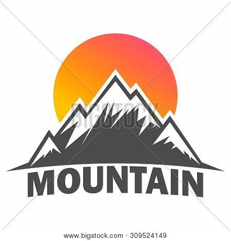Mountain Logo, Mountain Logo Vector, Hills Logo, Mountain Symbol, Mountain Icon, Mountain Logo Templ