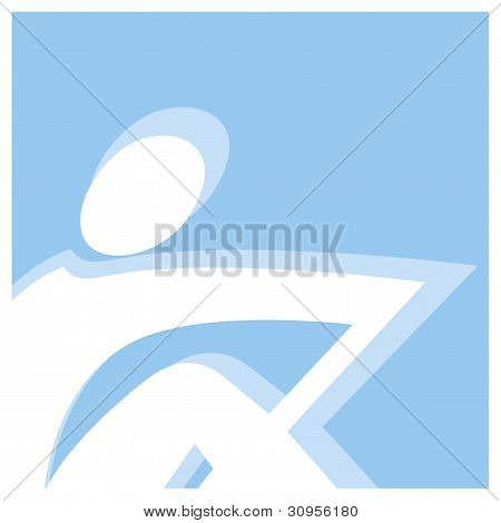 rowing pictogram