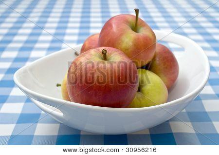 Bowl of Braeburn Apples