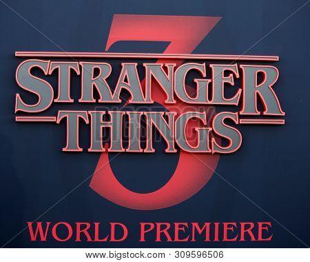 LOS ANGELES - JUN 28:  Stranger Things, General Atmosphere at the