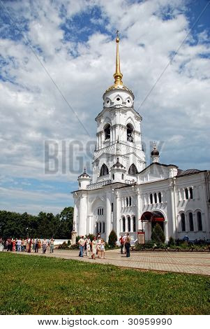 Assumption cathedral at Vladimir (Golden Ring of Russia)
