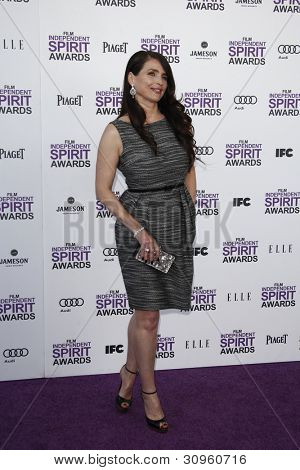 SANTA MONICA, CA - FEB 25: Julia Ormond at the 2012 Film Independent Spirit Awards on February 25, 2012 in Santa Monica, California