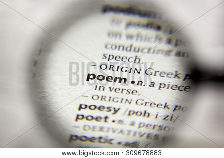 The Word Or Phrase Poem In A Dictionary