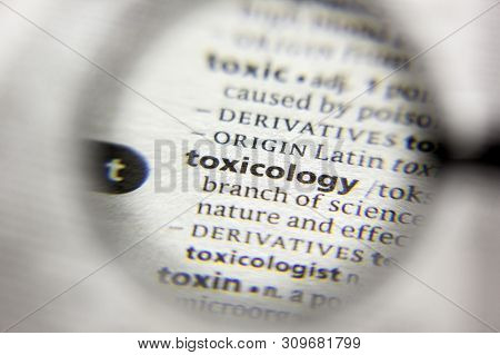 The Word Or Phrase Toxicology In A Dictionary