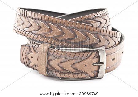 Brown Men's Belt