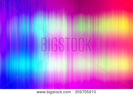 Halftone Square Elements. Sound Waves. Music Round Waveform Background. You Can Use In Club, Radio,