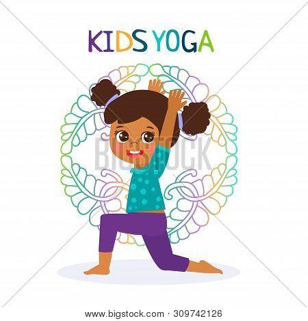 Kid Yoga Design Vector Photo Free Trial Bigstock