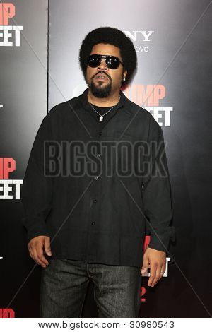 LOS ANGELES - MAR 13:  Ice Cube arrives at the