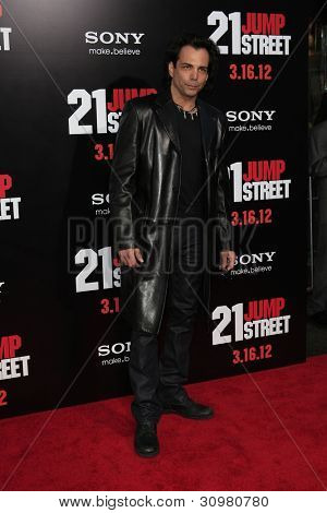 LOS ANGELES - MAR 13:  Richard Grieco arrives at the