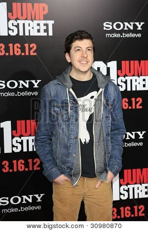 LOS ANGELES - MAR 13:  Christopher Mintz-Plasse arrives at the
