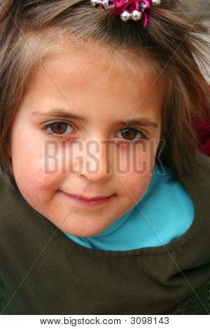 A Little Cute Girl Portraits