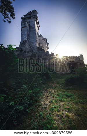 Photo Of Medieval Castle In Austria Burg Lichtenstein