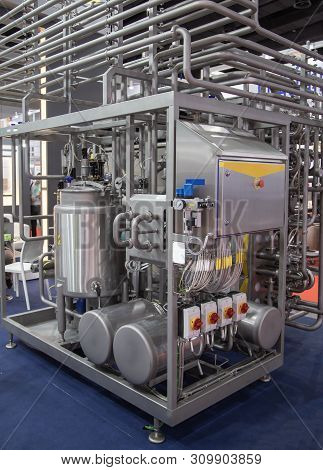 Tubular Aseptic Uht Pasteurizer With Vacuum Deaerator