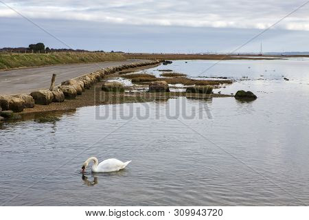 Sleepy, Small And Very Boaty, Keyhaven Was A Port In 1206 And Is Now A Fishing Hamlet. Bird Reserves