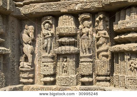 Finesse In Temple Carving