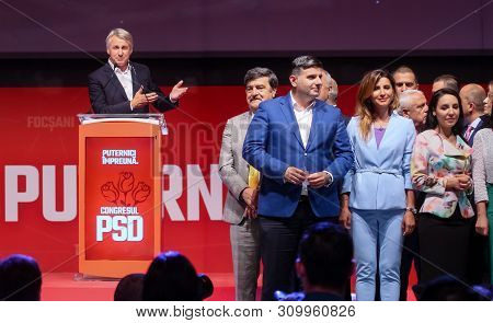 Bucharest, Romania - June 29, 2019: Eugen Teodorovici, The Elected Executive President Of The Social