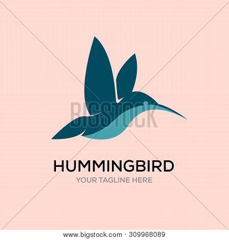 Hummingbirds Line Logo Designs, Colibri Logo Designs
