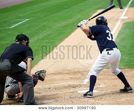Scranton Wilkes Barre Yankees batter Mike Lamb