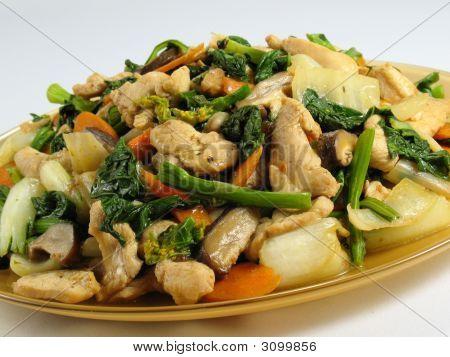 Chicken & Vegetables Stir-Fry
